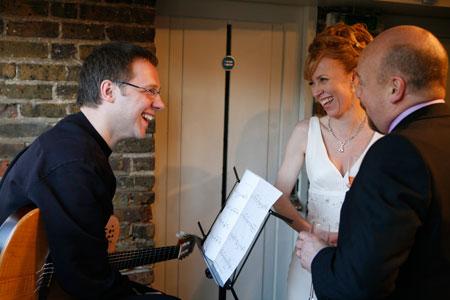 Jason Sidwell - Wedding  Gig